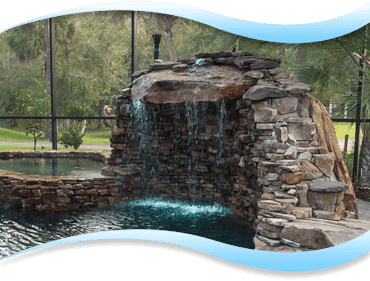 Pool Features Deland Pool Waterfalls Port Orange Amp Palm