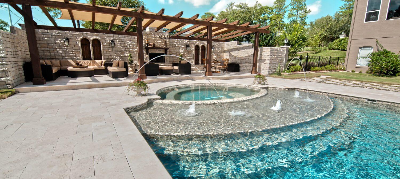 Orlando Backyard Living Starts With Exquisite Pool U0026 Spa