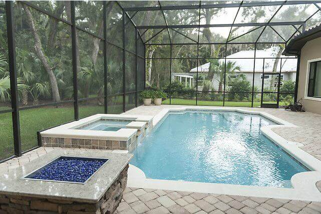 Deland Pool Builder Palm Coast Fire Pits Port Orange Outdoor Fireplaces