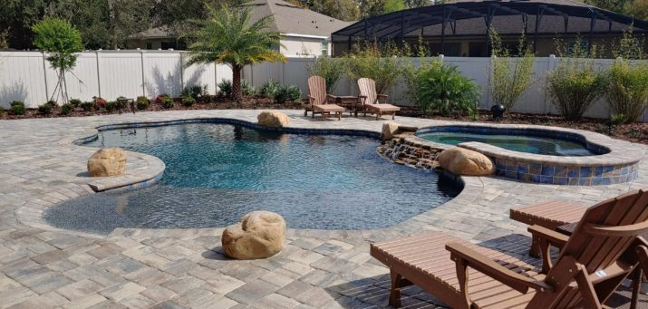 Palm Coast Pool Builder Deland Pool Landscaping Ideas Port Orange